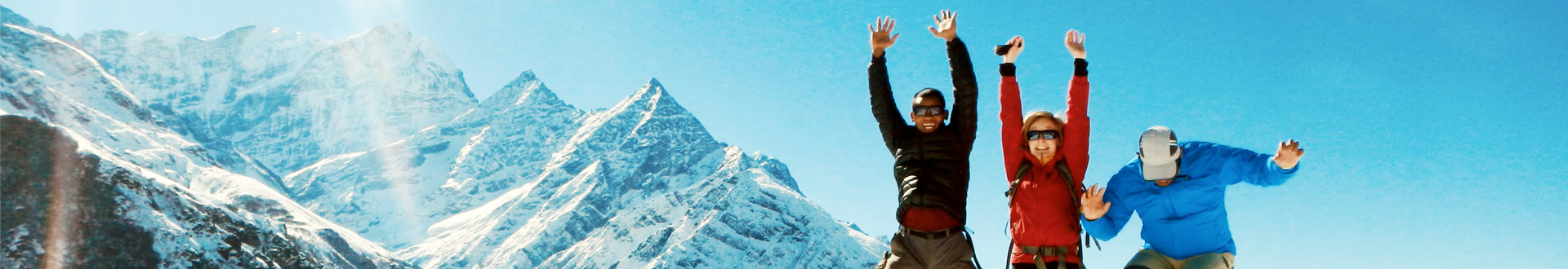 nepal trekking image