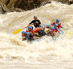 Sun Koshi River Rafting is one of the best rafting destination in the world.