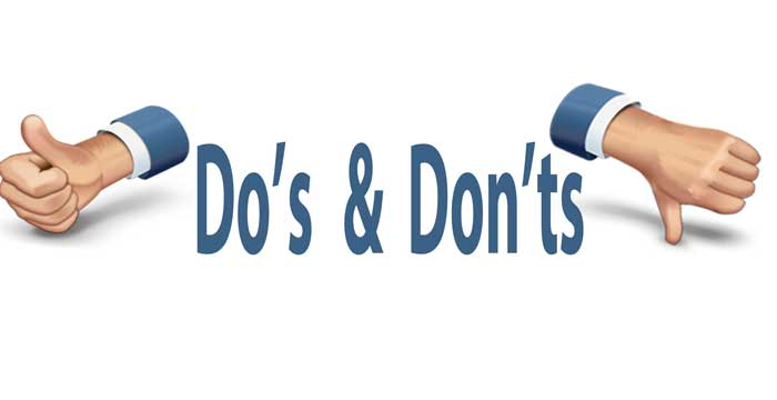 Dos and Don't in Nepal