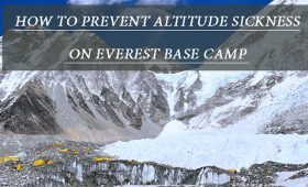 How to Prevent Altitude Sickness on Everest Base Camp