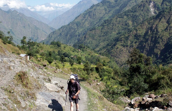Trekking Alone In Nepal