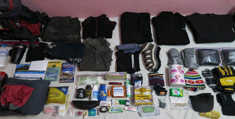 Nepal Trekking Packing List