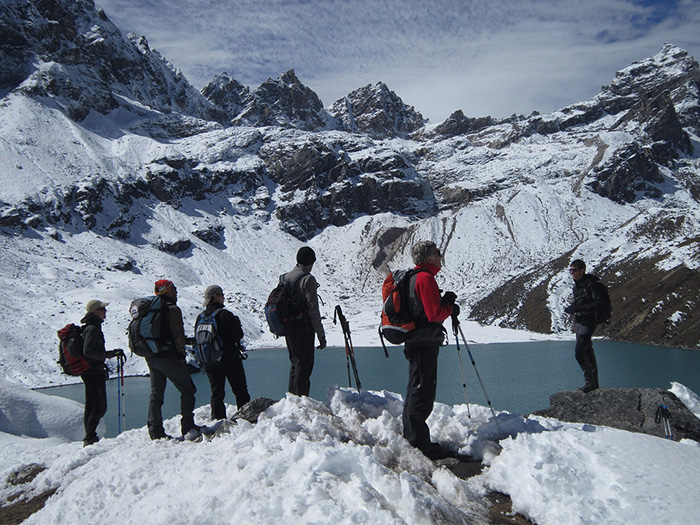 Gokyo Lake Chola Pass