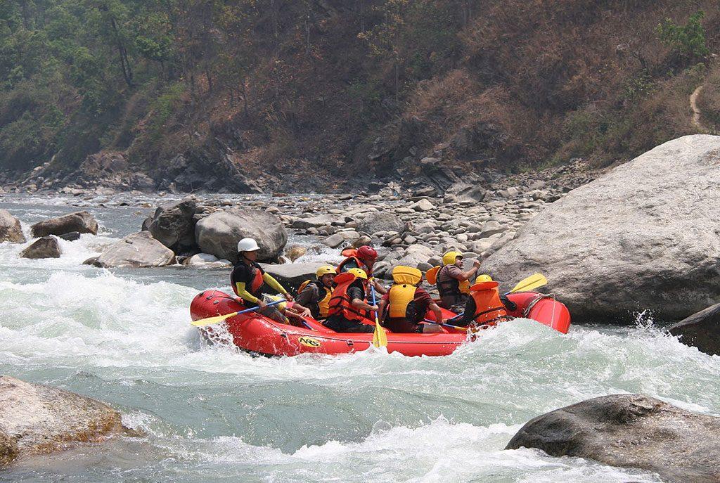 bhotekoshi-river
