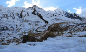 Annapurna Base Camp Temperature December