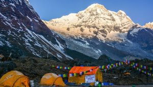 Annapurna Base Camp Weather September