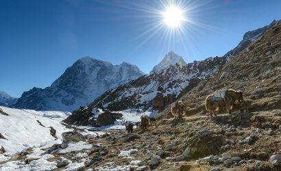 Trekking in Nepal in March