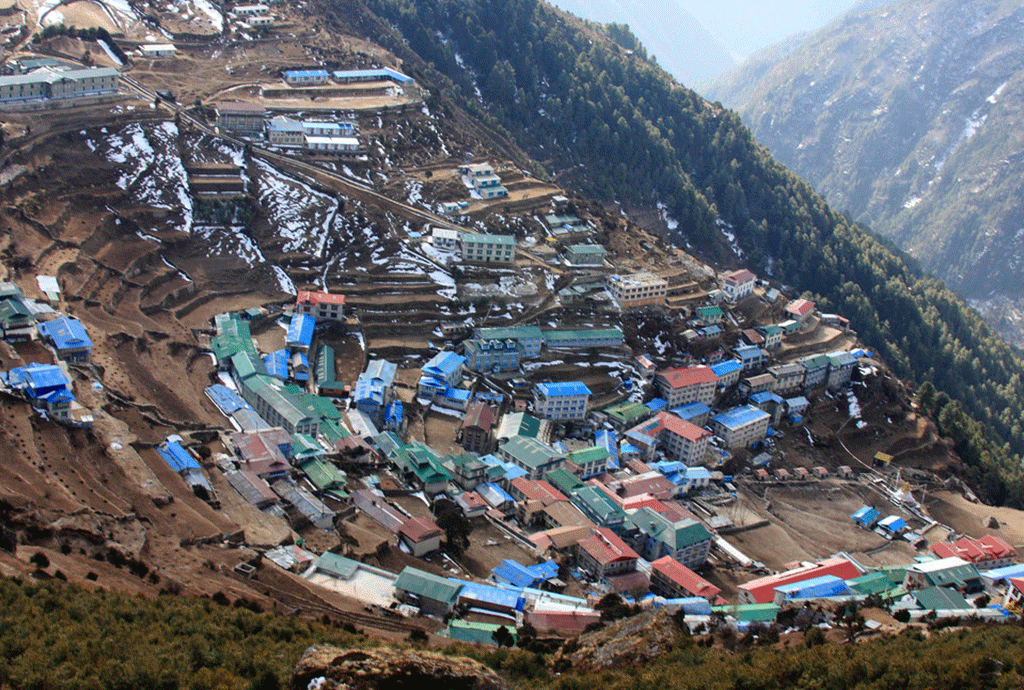 everest base camp lukla trek