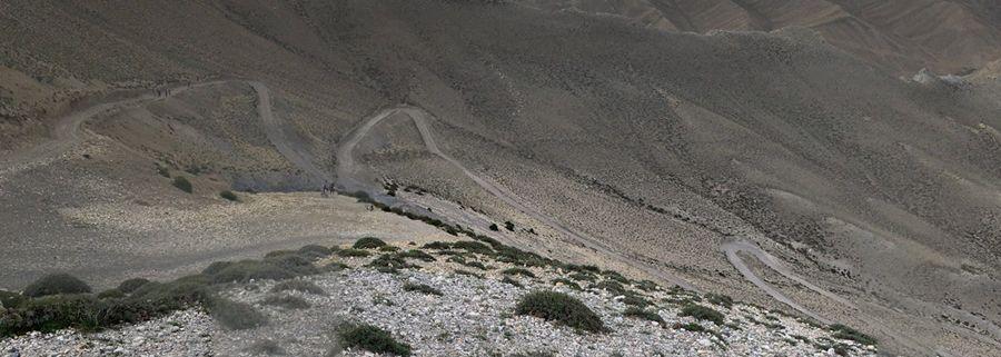 Tsarang La Pass how to get to mustang nepal