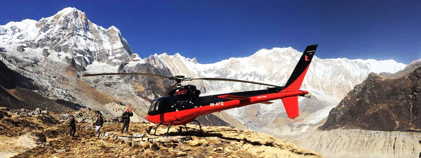 Annapurna Helicopter Charter Costs in Nepal