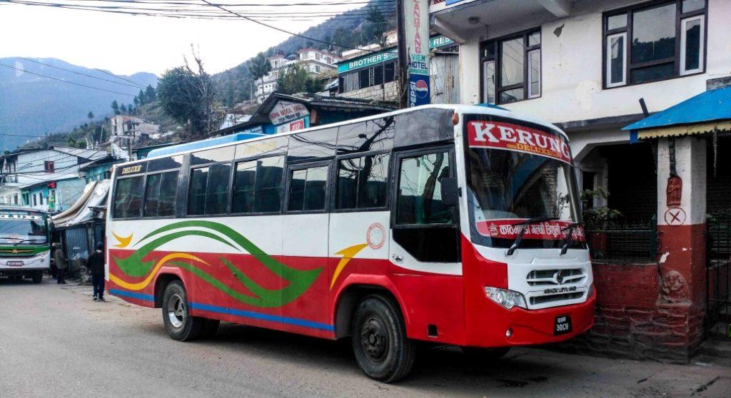 kathmandu to dhunche bus gosaikunda trek cost