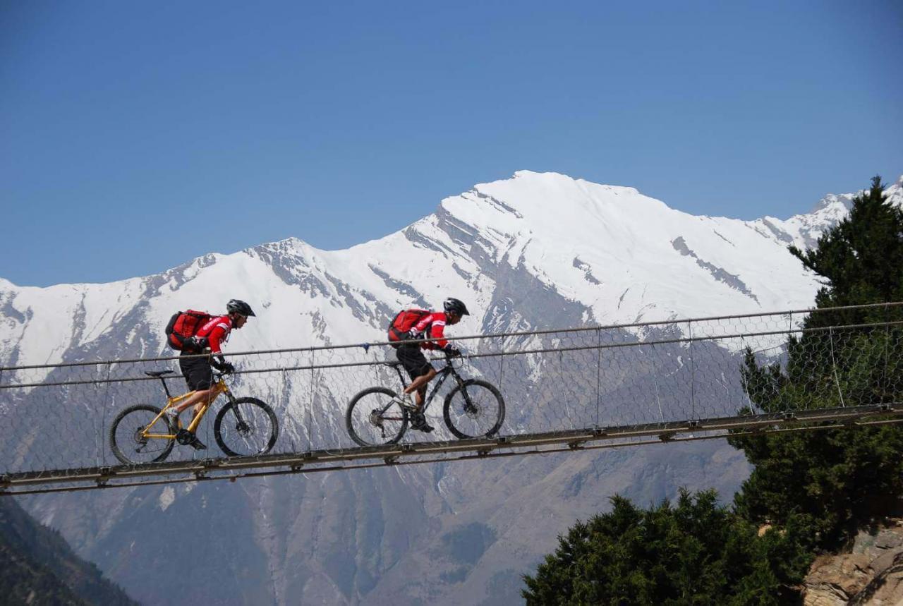 Mountain Biking Adventure Sports in Nepal