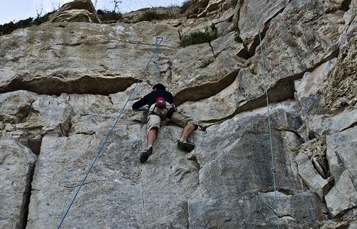 Rock Climbing Adventure Sports in Nepal