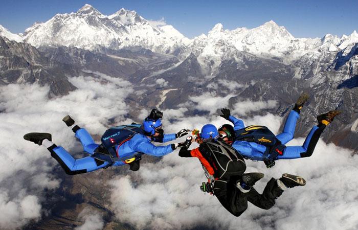 skydiving Adventure Sports in Nepal