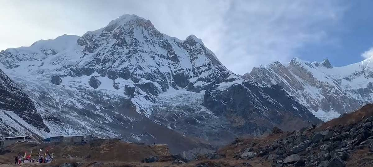 Annapurna Base Camp in January