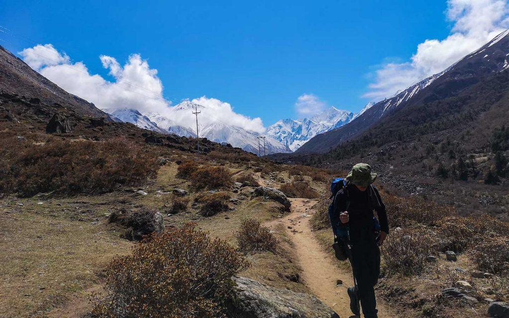 Langtang Valley Trek 11 days difficulties